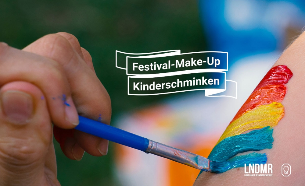 Festival-Make-Up - Vielmehr Open Air!